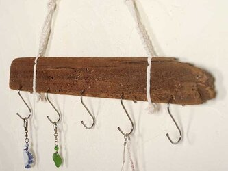 流木の小物掛け、アクセサリーハンガー32の画像
