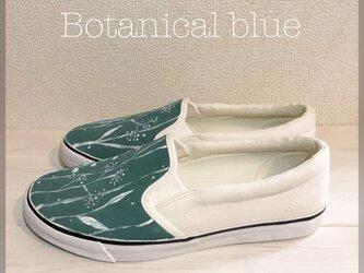 ペイントスリッポン 「botanical blue」の画像