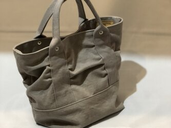 army duc gather  bag S grayの画像