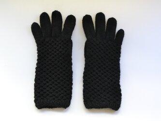 netting gloves(黒)の画像