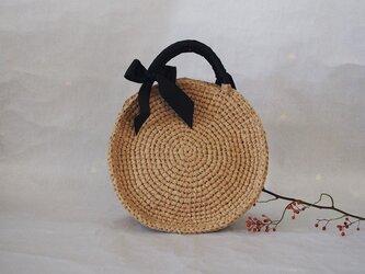 裂き編みバッグ(ラウンド型)の画像