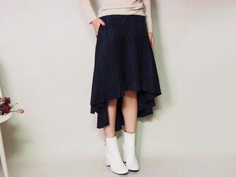 マーメイドスカート ネイビーの画像