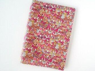 リバティ A5 ノートカバー ジェニーズリボンズ ピンクの画像