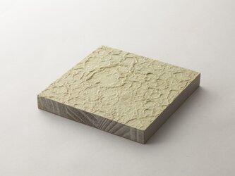 和紙のインテリアボードの画像