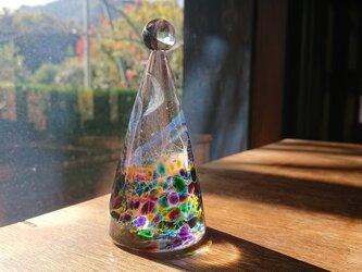 ガラスのクリスマスツリーmixの画像