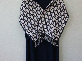 オーガニックコットン手織りショール(ショート)の画像
