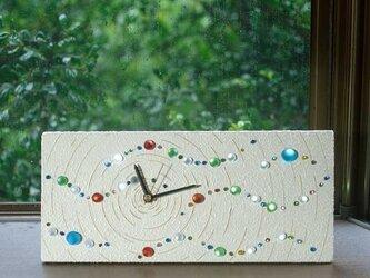 ビー玉の置き時計、掛け時計-6の画像
