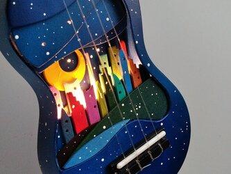 星空のウクレレの画像