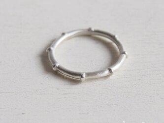 【受注制作】- Silver - Bamboo Ringの画像