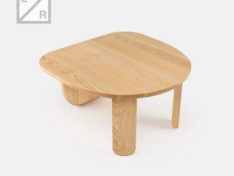 職人手作り モダンデザイン デイナーズ風 シンプルなちゃぶ台/ローテーブル 天然木 木目 北欧家具 サイズオーダー可の画像
