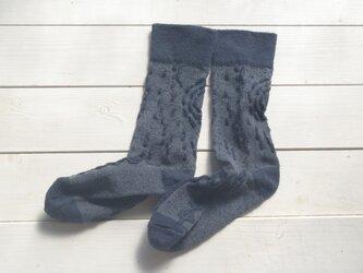 絹の靴下 snow forest ログウッドの夜の画像