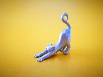 Miniオブジェ 白猫の画像