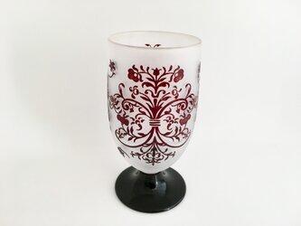 ヴィクトリア調ワイングラスの画像