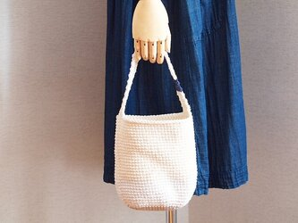ワンマイルバッグ*ミルク色の画像