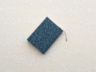 *本のお着物*正絹小紋・小花模様の画像