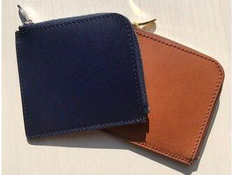 革の宝石ルガトー のL字ファスナーミニウォレット ミニ財布の画像