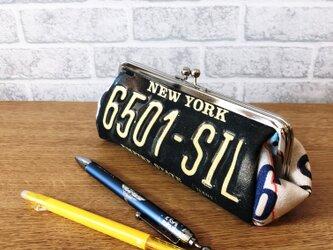 がま口ペンケース*NEWYORK×illinoisの画像