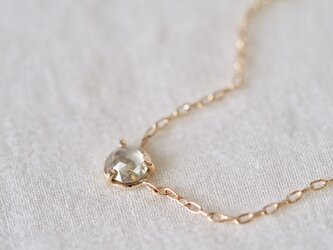 Moon Light Diamond Necklaceの画像