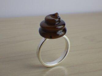 ウンチのリングの画像
