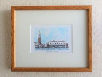 Piazza San Marco(フレーム付き)の画像