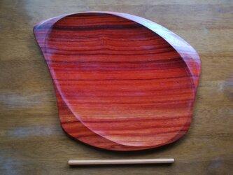 ブビンガの木のプレートの画像