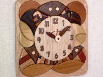 木時計 モザイクの画像