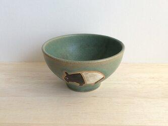 マレーバクの茶碗の画像