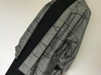 1105    着物リメイク    長袖ジャケット    手織り紬の画像
