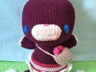 うさっこ編みぐるみの画像