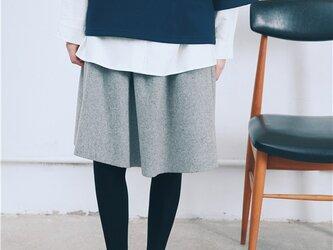 ウール100%スカートの画像