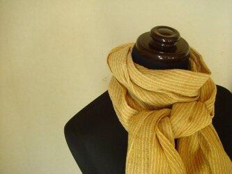 〈手織り〉ストール*タマネギの画像