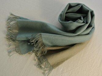 double cloth muffler #10の画像