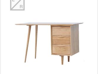 受注生産 クラシックデザイン シンプル テーブル/デスク/勉強机 北欧家具 ナチュラル 職人手作り 天然木 パイン無垢集成材の画像