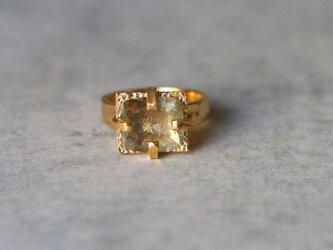 古代スタイル*天然ディアスポア 指輪*8号 GPの画像