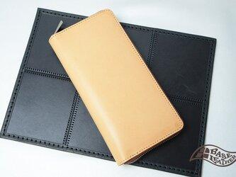 【アウトレット】ブッテーロラウンドファスナー長財布【日本製】の画像