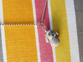 ネックレス・トイプードルの画像