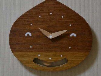 栗坊主の振り子時計の画像