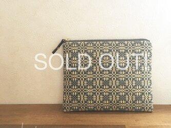 0様専用 pouch[手織り小さめポーチ]他の方はご購入できませんの画像