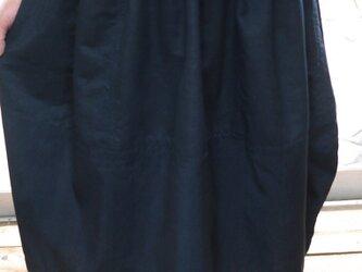 正絹100反物からコクーンギャザースカートの画像