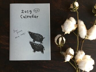 gogo! カレンダー 2019の画像