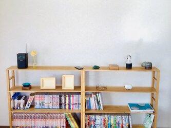 ナラの木棚(組み立て式)の画像