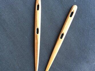 ノールビンドニング  針  二つ穴の画像