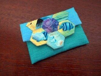ヘキサゴンの名刺入れ Under the Seaの画像