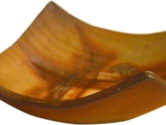 備前焼四方深皿(M)の画像
