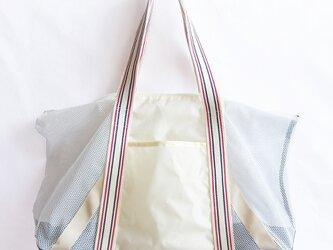 受注生産・キャリーバッグ(耐荷重8kg・オフホワイト系)の画像