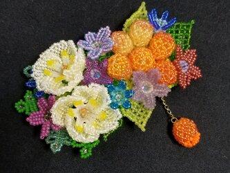 バレッタ Bouquet  (ホワイトオータム)の画像