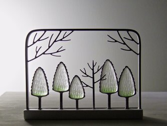 ガラスの森 フレームの画像