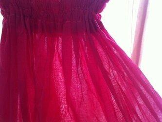 2WAY ワンピース & ロングスカート ピンクの画像