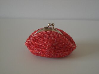 Beaded Purse --Strawberry--の画像