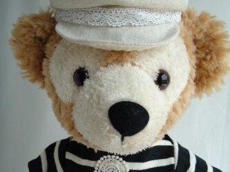 ダッフィー帽子 キャスケット(綿麻)の画像